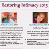 """Restoring Intimacy"" Conf 2015"
