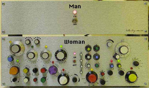 Switch box of men and women 300pix