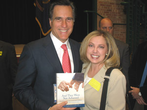 Mitt Romney and Laura Brotherson