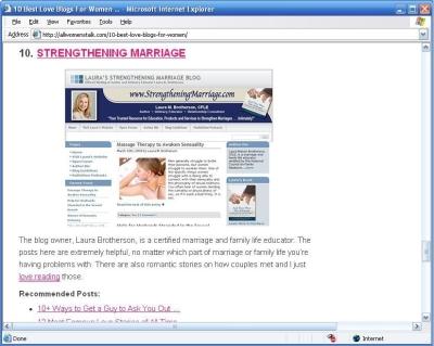 Top 10 Women Blogs