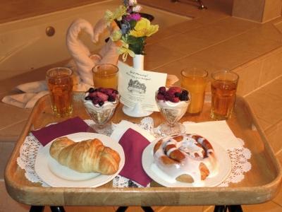 Anniversary Inn breakfasts