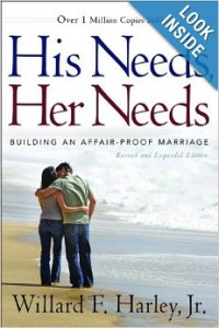his needs her needs book